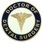 Doctor of Dental Surgery Pin Branded