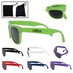 Promotional Folding Adult Sunglasses