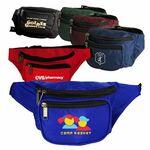 Custom Imprinted 3 Zippered Fanny Pack