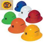 Full Brim Hard Hat W/6 Point Ratchet Suspension Logo Printed