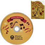 "Greeting Card with ""Holiday Memory"" CD Logo Branded"