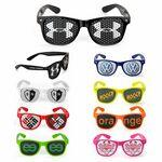 Novelty Custom Graphic Sunglasses Custom Printed
