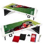 Personalized The Official Baggo Bean Bag Toss Game w/ 2 Portable Boards & 8 Bags - 4 Color