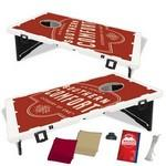 The Official Baggo Bean Bag Toss Game w/ 2 Portable Boards & 8 Bags - 2 Color Custom Imprinted