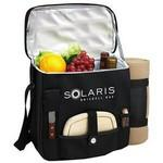 Logo Branded Wine & Cheese Picnic Set with Cooler & Blanket