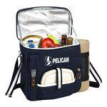 Wine & Cheese Picnic Set with Cooler & Blanket Logo Branded