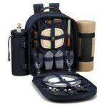Promotional Picnic Backpack for Two with Blanket