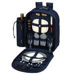 Logo Branded Picnic Backpack for 2 with Cooler