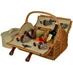 Custom Printed Yorkshire Picnic Basket for Four