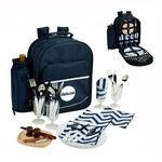 Logo Branded Picnic Backpack Cooler for Four