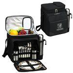 Picnic Set for 2 with Cooler & Coffee Service Custom Printed