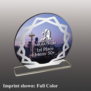 Stock Shaped Full Color Acrylic Awards - Large