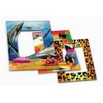 "Custom Printed Custom Acrylic Magnetic Picture Frame (3""x4"" Photo)"
