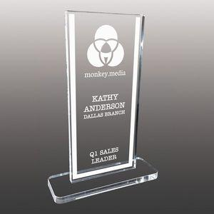 Stock Shaped Etched Acrylic Awards - Large
