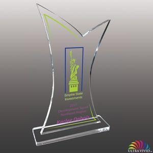 Stock Shaped UV Acrylic Awards - Large