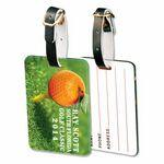 Custom Acrylic Luggage Bag Tags (4 Square Inch) Logo Branded