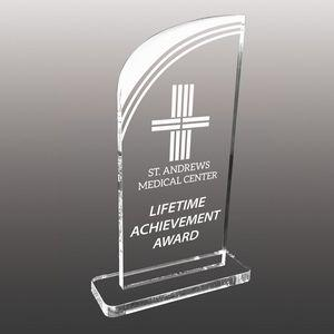 Stock Shaped Etched Acrylic Awards - Small