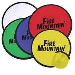 "9 3/4"" Nylon Flying Disc w/ Pouch Logo Branded,Customized"