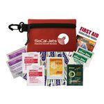 "Budget Outdoor First Aid Kit (4.5""x3.25""x0.5"") Custom Printed"