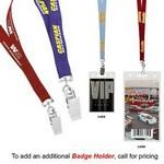"1/2"" Recycled Econo Lanyard (3-4 Week Service) Custom Imprinted"