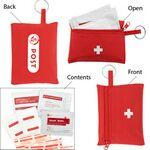 Custom Branded First Aid Travel Kit (22 Piece)