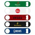 Logo Branded Bartender's Colored Stainless Steel Bottle Opener