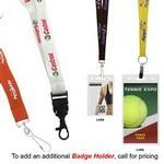 "Logo Branded 3/4"" Recycled Econo Lanyard (Direct Import - 7-8 Weeks Ocean)"