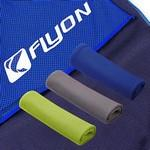 Logo Printed Workout Cooling Towel (Green)