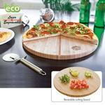 Gourmet Bamboo Pizza Set/ Cutting Board Custom Imprinted
