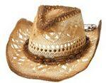 Custom Imprinted Outback Paper Straw Cowboy Hat