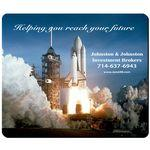 "Custom Imprinted Rectangle Mouse Pad 7 3/4"" x 9 1/4"" x 1/8"""