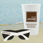 Logo Branded CUP-SUNGLASSES-KIT - Stadium Cup & Sunglasses combo