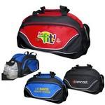 All Purpose Sports Duffel Bag W/ Shoe Compartment Custom Branded