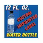 12 Oz Custom Label Spring Water Logo Branded