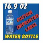 16.9 Oz Custom Label Bottled Water Custom Printed