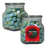 Promotional Apothecary Jar with Candy, Mints, Nuts, or Chocolate
