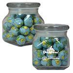 Custom Imprinted Apothecary Jar with Mints, Gum, Candy, Chocolate, or Nuts