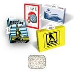 Promotional Advertising Box Filled With Mints, Gum, Chocolate, or Candy