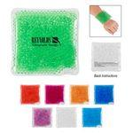 Therapeutic Square Hot Cold Gel Pack With Beads Customized