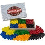 Rectangle Custom Candy Box with Corporate Color Jelly Beans Logo Branded