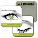 "Square Custom Lenticular Images and Effects Pin (2""x2"") Custom Imprinted"