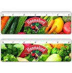 "6"" Ruler - Custom 4 Color Lenticular Design / Custom Images and Effects Custom Printed"