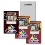 "Lapel Pin - 2""x3"" / Casino Slot Lenticular Animation Design (Custom) Custom Imprinted"