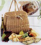 2 Person Eco Picnic Basket Logo Branded