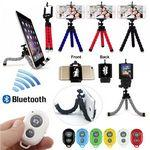 iBank® Universal Tripod + Bluetooth Shutter for Smartphones and Tablets Custom Printed