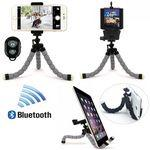 iBank® Universal Tripod + Bluetooth Shutter for Smartphones and Tablets Logo Branded