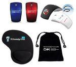 Promotional iBank(R)Wireless Mouse + Wrist Rest Mouse Pad