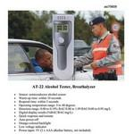 Custom Imprinted iBank(R)Alcohol Tester / Breathalyzer (Batteries Included)