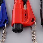 iBank(R) Keychain Seat Belt Cutter Safety Hammer Custom Imprinted