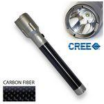 3C Carbon Fiber Flashlight with Cree® LEDs Custom Printed